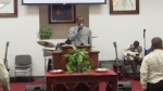 Bro. Chishom leading us in worship