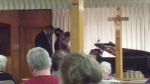 Bro. Jack & daughters blessing through song at Branham Tabernacle