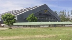Possibly the Air Zim hangar where our plane was impounded! (Day 11- Zimbabwe)