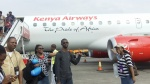 Kenya Airlines (our ram in the bush!)