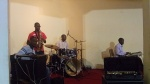 Practicing for our recording session(Day 8- Zimbabwe)