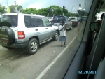 Little girl begging in middle of traffic (Day 10- Zimbabwe)