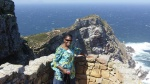 Sis. Erika @ Cape Point (where the oceans meet) (Day9-10)