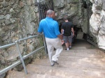 Entering caves in Sterkfontein (DAY 2)