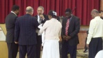 Twin baby dedication by Pastor Blair (Day 11-14)